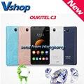 Original oukitel c3 3g smartphone de 5.0 pulgadas android 6.0 ram 1 gb rom 8 gb mtk6580 quad core 1.3 ghz dual sim gps teléfono móvil WIFI