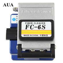High Precision Fiber Cleaver Optic Connector FC-6S Optical Fiber Cleaver,Used in FTTX FTTH  Free Shipping,Metal material