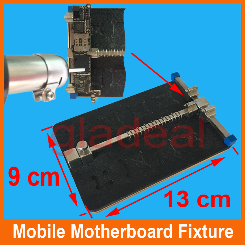 High Temperature Resistant Motherboard PCB Fixture Holder For iPhone IC Maintenance Repair Mold BGA Tool Platform high temperature resistant pcb motherboard test fixture jig holder maintenance repair platform for iphone 8 8p 7 7p 6 6s 5 5s