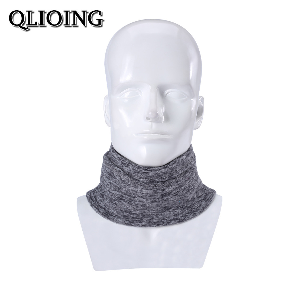 QLIOING Winter neck warmer Neck Gaiter cold weather balaclava ski mask face mask hat cap