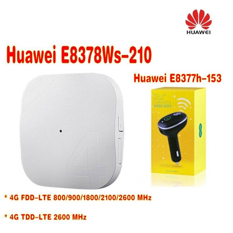 Débloqué d'origine HUAWEI E8378 E8378Ws-210 4G AP Routet WIFI + débloqué Huawei E8377 E8377s-153 4G LTE 150 Mbps Carfi Hots