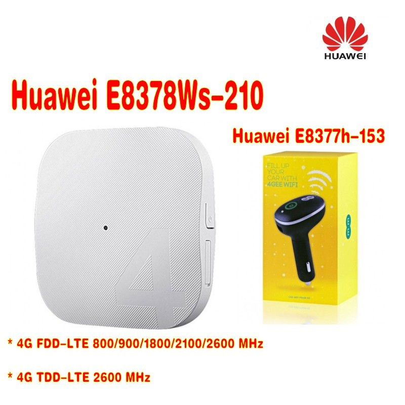 Unlocked Original HUAWEI E8378 E8378Ws-210  4G AP Routet WIFI +Unlocked Huawei E8377 E8377s-153 LTE 150Mbps Carfi Hots