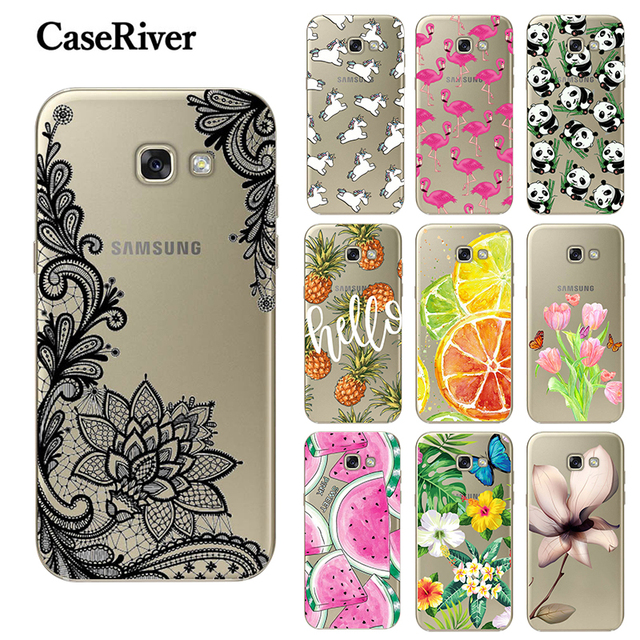 CaseRiver FOR Coque Samsung A5 2017 Case Silicone FOR Funda Samsung Galaxy A5 2017 Case TPU sFOR Samsung A5 2017 Cover A520F