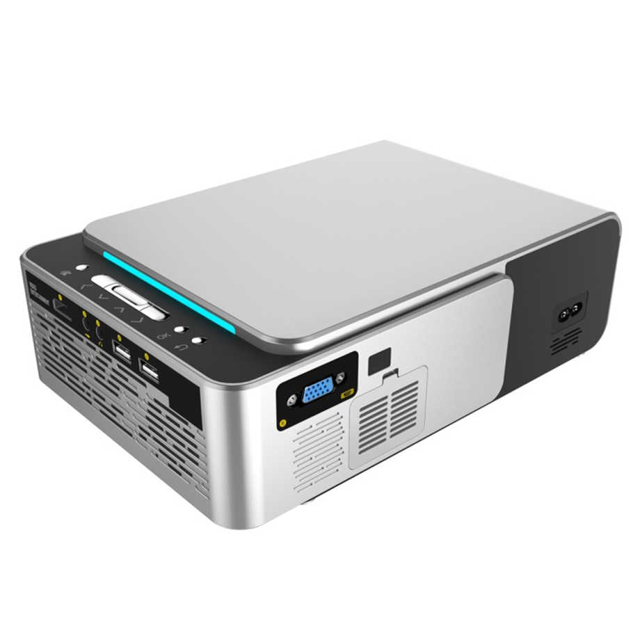 Smartldea 新 S6 1280 × 720 1080p ポータブルプロジェクター HD ホームシアター proyector 1080 1080p センターサポートビデオゲームビーマー HDMI の USB の VGA AV