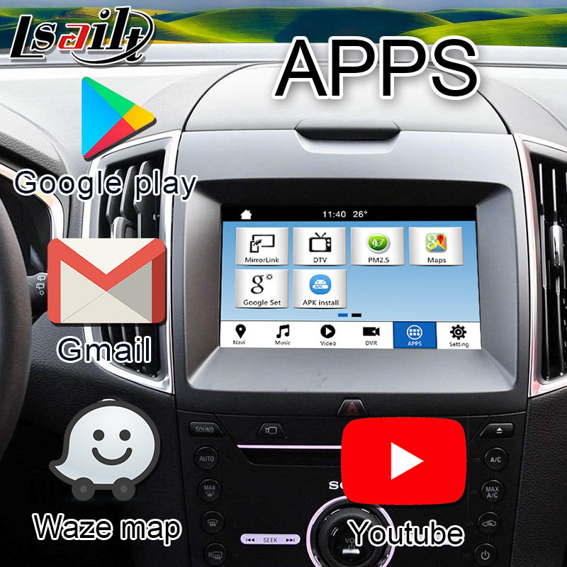 Plug Play Android Gps Navigator For Ford Sync 3 Edge Fiesta Etc With Mirrorlink App Steering Wheel Control Android Navigation Navigation Androidandroid Interface Aliexpress