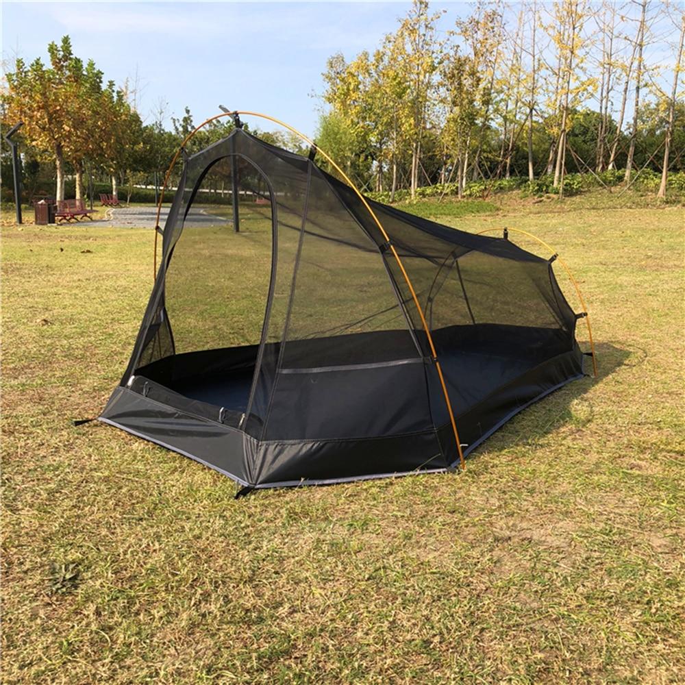 Tente de Camping extérieure de tente de plage répulsive de moustique avec la mouche imperméable de pluie augmentant la tente de maille respirable d'été de Cabana d'escalade