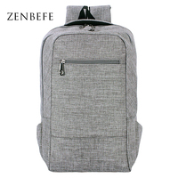 ZENBEFE Laptop Backpacks Large Capacity Backpack For College Designed Brand Backpack Unisex School Bags For 15