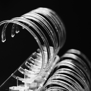 Image 5 - 1 Juego de 2 niveles, de moda, acrílico transparente, para reloj de pulsera, soporte para estante de exhibición