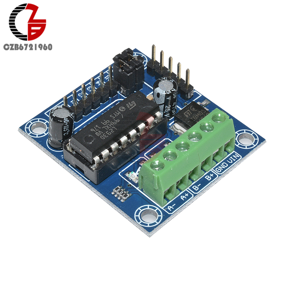 цена на Mini Motor Drive Shield Expansion Board L293D Motor Driver Module for Arduino UNO MEGA2560 R3