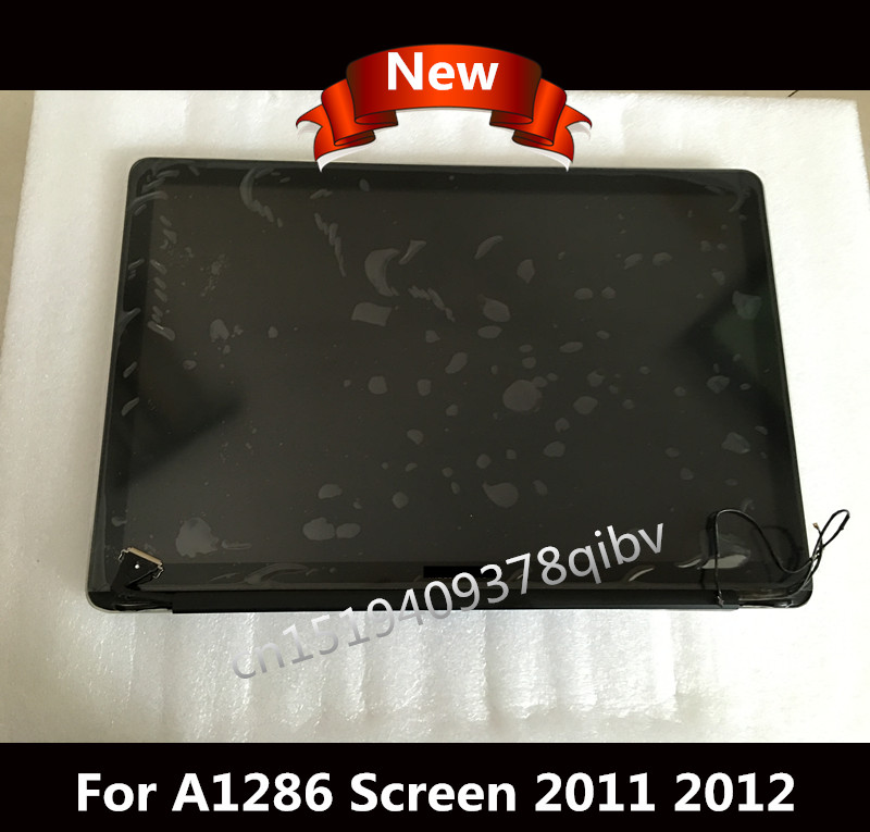 Brand New LCD LED Glossy Screen Display Assembly For Macbook Pro 15 4 A1286 2011 2012
