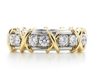 New Designer Engagement Ring Famous Brand Copy Sterling