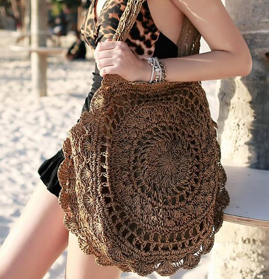 2018 new straw bag folding woven bag grass beach shoulder bag seaside travel female,bag for women womens ,luggage tag,kanken