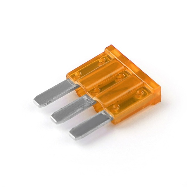 Areyourshop High Quality Micro3 Fuse Automotive 5A 7.5A 10A 15A 20A 25A 30A 3 Prong Micro Blade Fuse New Arrival
