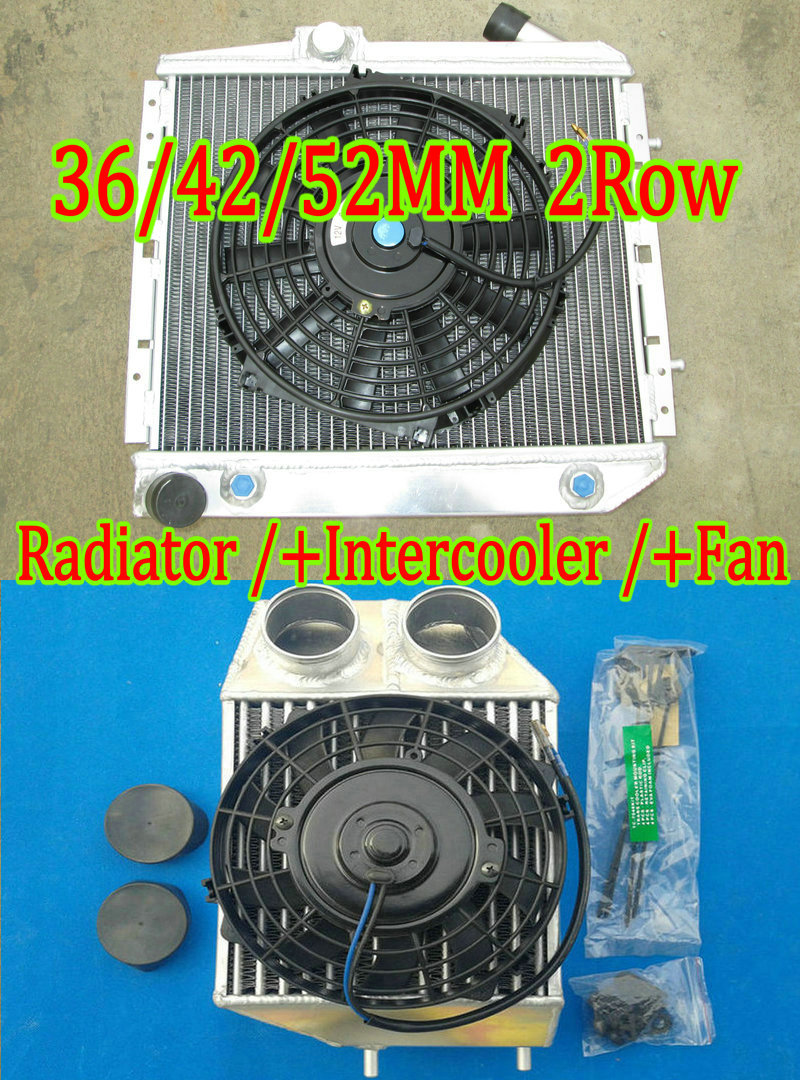 ALUMINUM ALLOY RADIATOR RENAULT 5//R5 GT TURBO 85-91 86 87 HIGH PERFORMANCE 50MM
