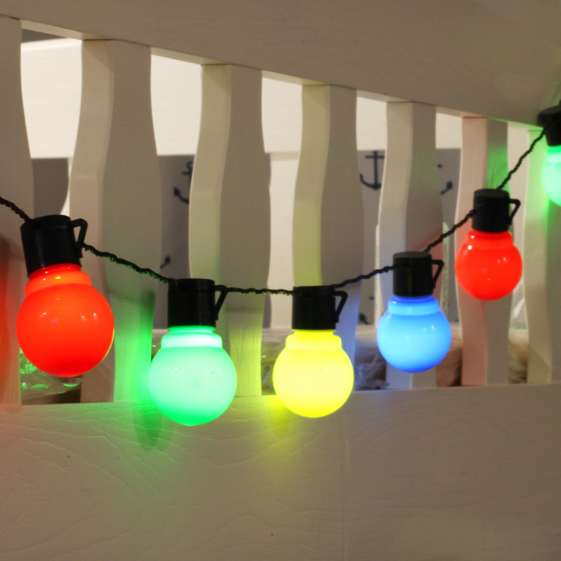 G50 Festoon Led Globe Bulb Led String Lights Outdoor Waterproof Led Ball String Garland Party Wedding Backyard Patio