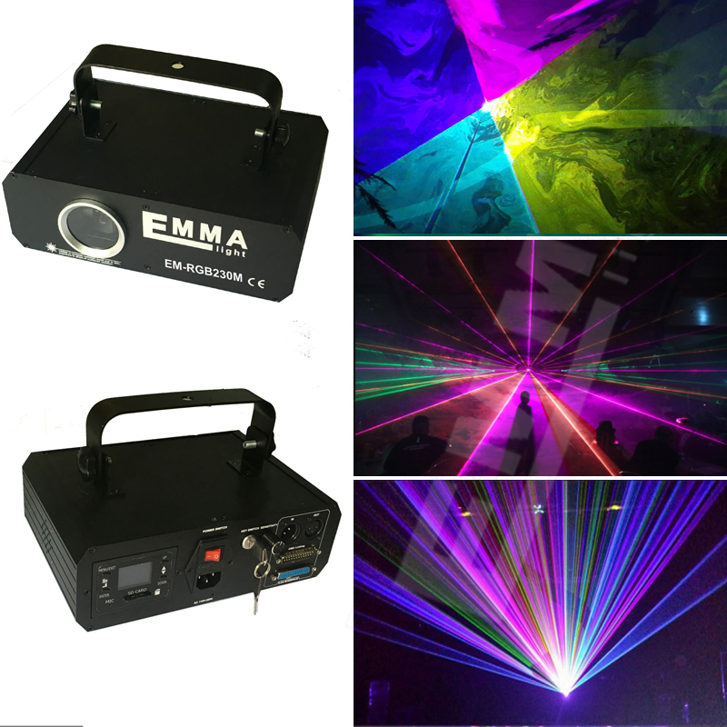 1 Watt Full Color Rgb Laser Stage Light Projector Led Stage Effect Lighting For Dj Disco Party Ktv