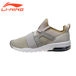 Li-Ning Men's Bubble Up Walking Shoes Cushion Breathable Sneakers Fitness Streetwear LiNing Sports Shoes AGLM001