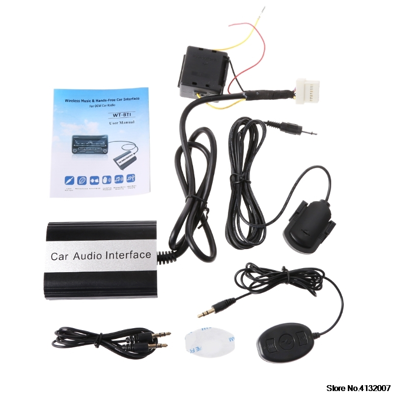 Car Bluetooth Kits MP3 AUX Adapter Interface For Nissan for Infiniti 2000 2010 828 Promotion