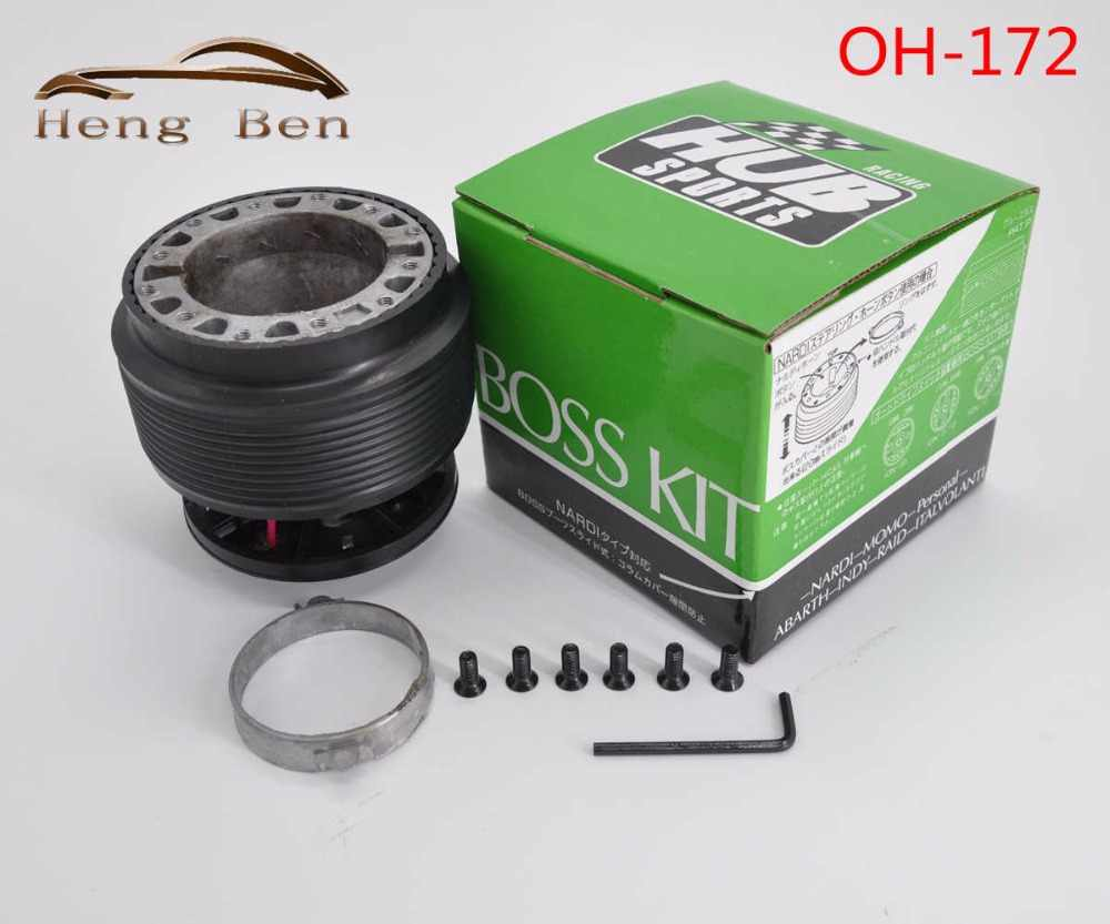 HB Racing Steering Wheel Boss Kit Hub Adapter VOOR Civic 1996 1997 1998 1999 2000 EK EM EK9 EM1 EJ7 EJ8 EK3 EK4 EJ MB OH172