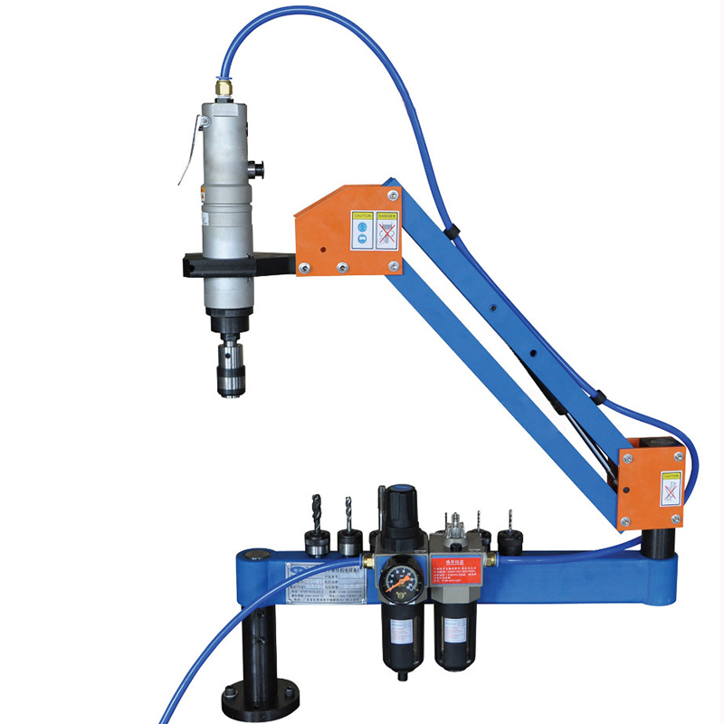 High Quality M3-M16 Automatic Pneumatic Tapping Machine Air Tapper Tool Threading Machine With Working Reach 1000MM high quality at 012 l m3 m12 automatic pneumatic tapping machine air tapper tool with work reach 1900mm