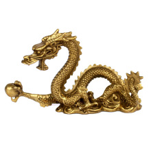 Fine solid copper dragon light Home Furnishing Feng Shui Zodiac dragon decoration crafts