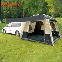 KingCamp New MELFI Multi-Purpose 5-Person 4-Season SUV Tent for Camping Self-driving Traveling Tent outdoor tent car camping