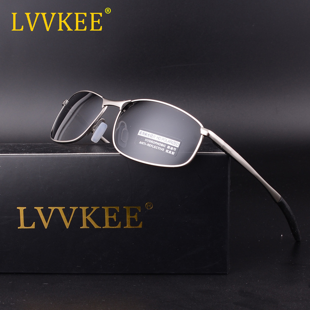 f4adf2aa707 LVVKEE 2019 Fashion HD Polarized Sunglasses Men s 100% UV400 Driving Sun  Glasses Goggle Style Eyewear
