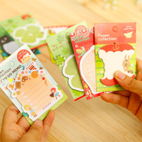 Korean paste notes this creative forest animal series lovely sticky /N pad wholesale