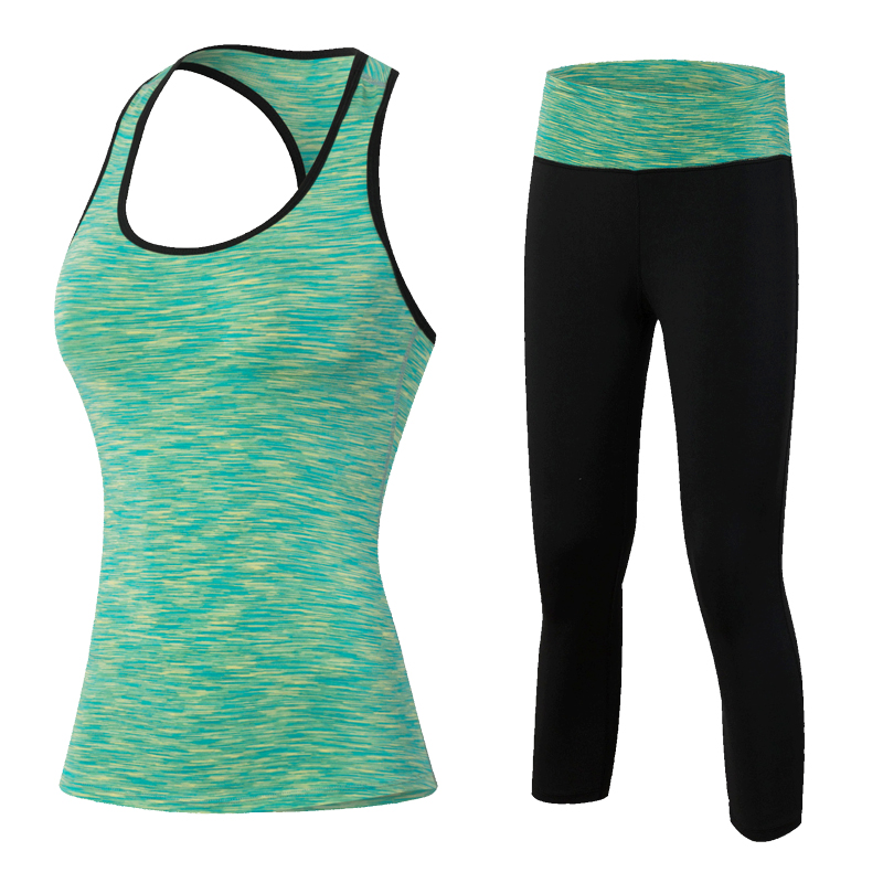 2017 Women font b Sport b font Sets for Running Yoga Fitness Gym Girl Clothing font