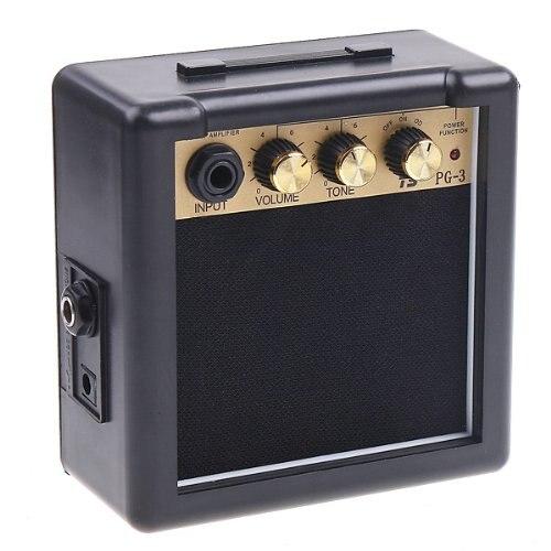SEWS PG-3 3 W guitarra eléctrica Amp amplificador altavoz volumen Control de tono