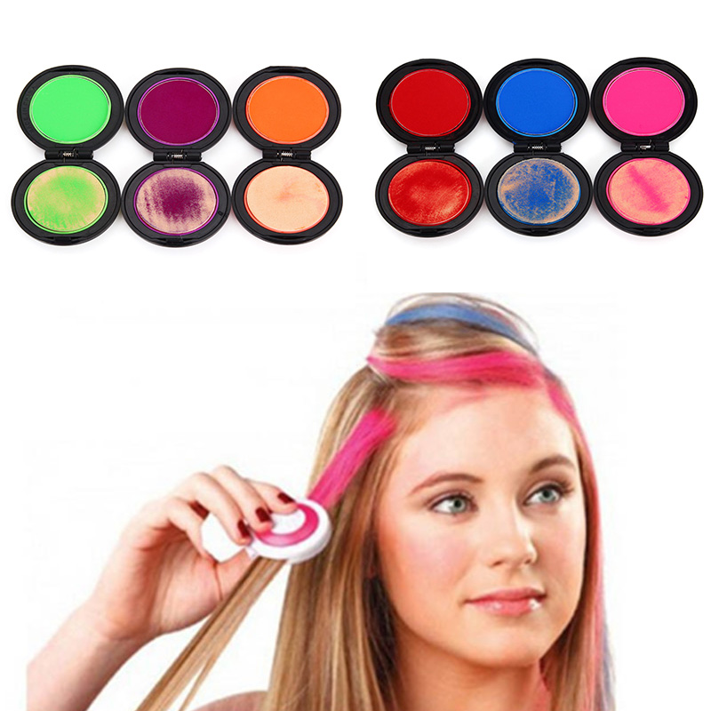 Coloring Synthetic Hair With Chalk Paint