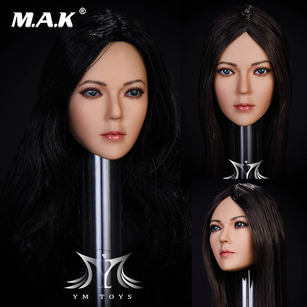 1/6 Scale Asian Woman Song Head Sculpt Carved Figure Girl Head Model For 12