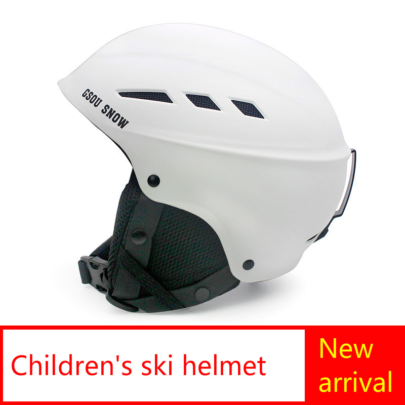 Outdoor sports ski ski helmet earmuffs thickened children helmet