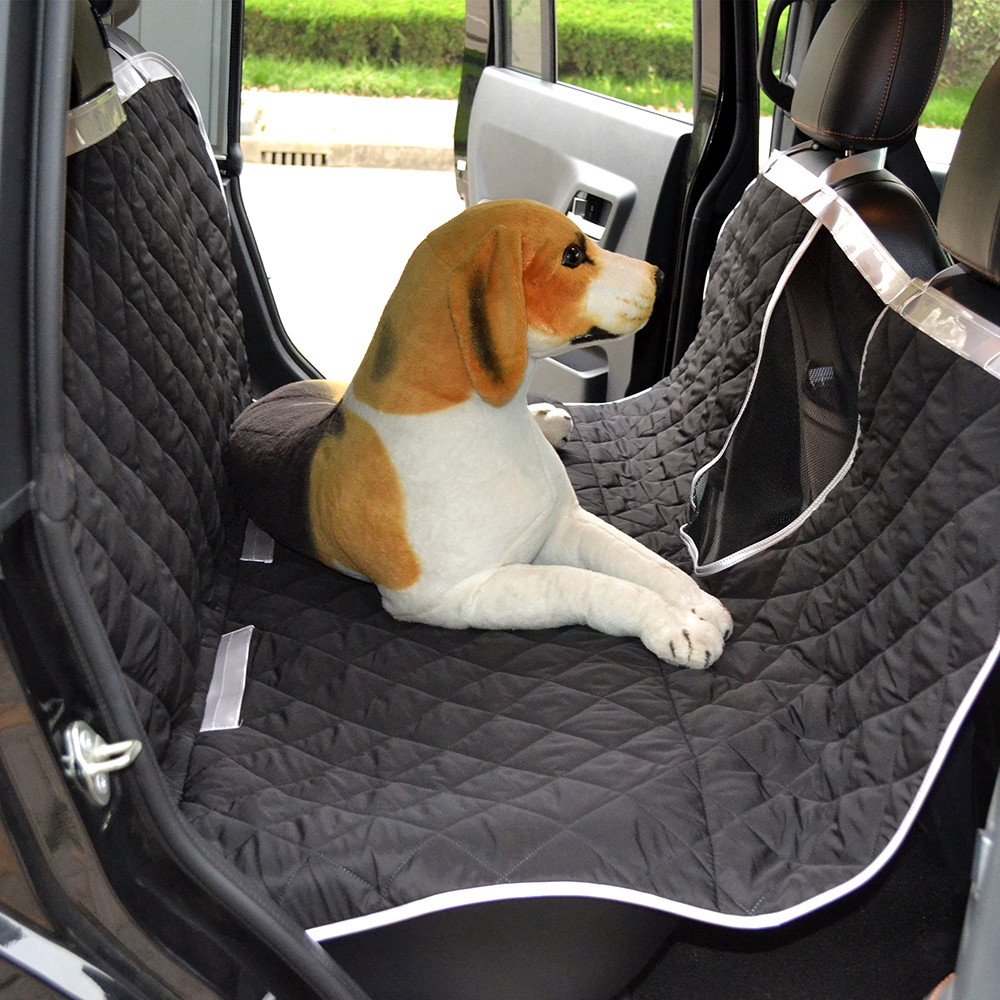 Aliexpress Buy Water Resistant Polyester Pongee Pet Car Seat Covers Dog Cat Hammock Cover With Dogs Viewing Window For Cars Trucks And SUV From