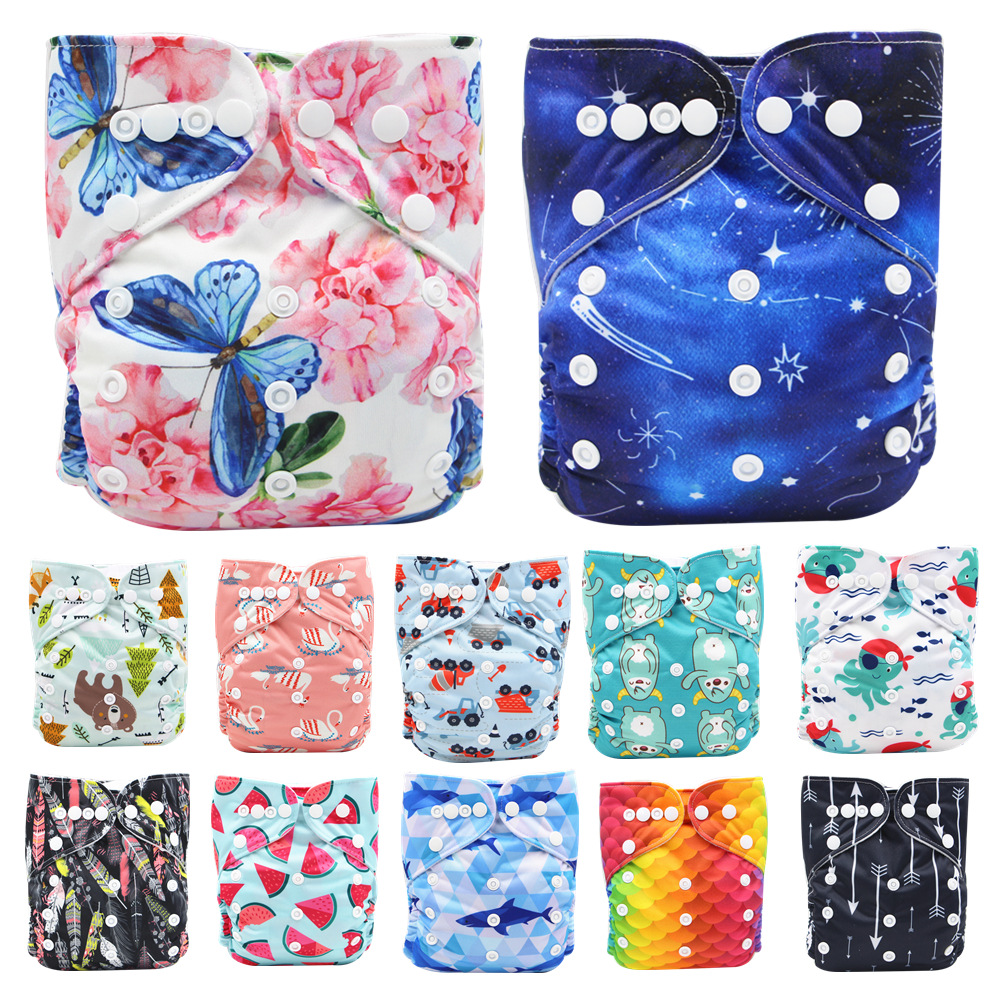 Super Dry Pocket Diapers Baby Cloth Diaper Nappies