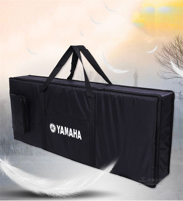 76 key professional Instrument keyboard piano bag thickened cover case double shoulder belt  for electronic organ free shipping