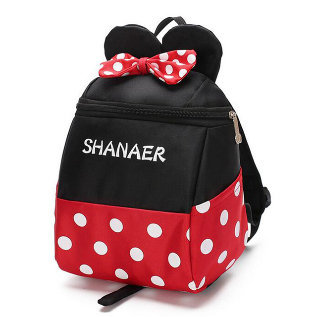 fc9d88172b Cute Minnie Mickey Children Cartoon School Backpack For 3-5 years old Boys  Girls Anti