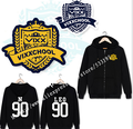 VIXX CHOOL with N LEO support around the clothes RAVI KEN zipper hoodie coat female autumn and winter