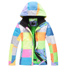 Ski clothes GSOU SNOW 2016 ski suits men's waterproof windproof warm ski clothes free shipping