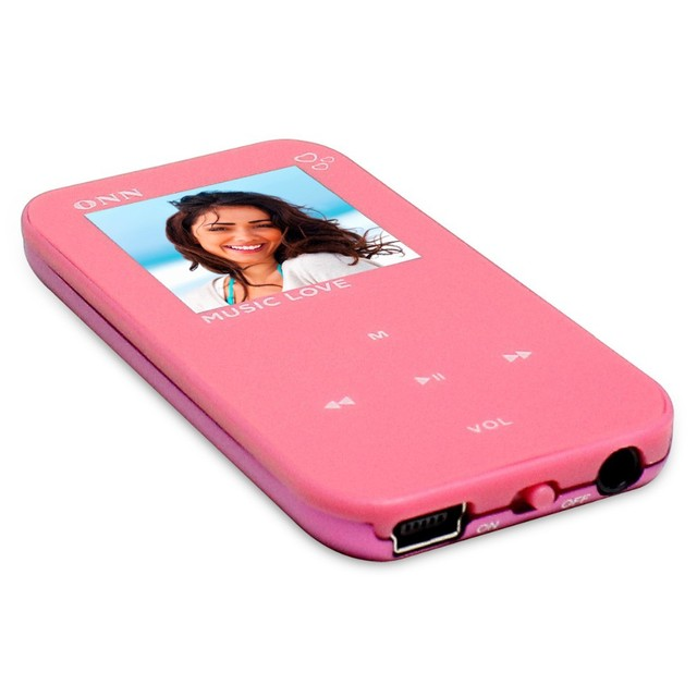 "Free Shipping portable 4GB Ultra-Slim 1.5"" TFT Screen ONN Q2 Sports MP3 Player with FM Radio"