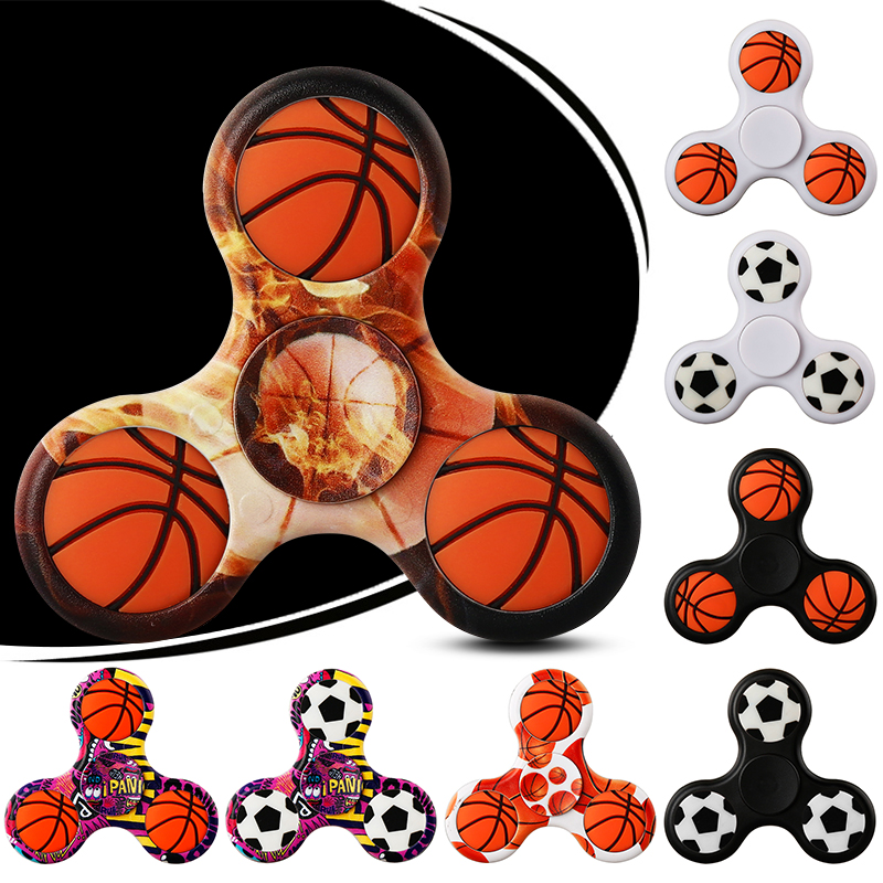 Football Spinner 3D Basketball DIY Hand Spinners Fidget Finger Spiner Puzzles Toys...
