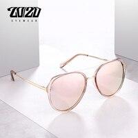 20 20 Brand Design 2018 Polarized Sunglasses Women Fashion Retro Vintage Female Glasses UV400 Shades Gafas