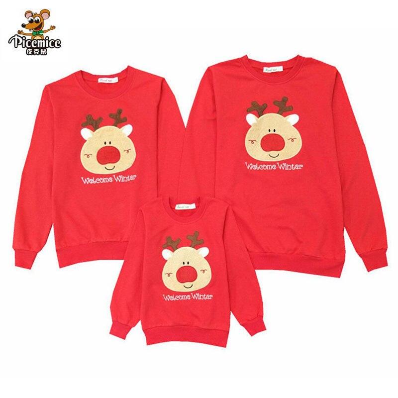 Nett Familie Kleidung 2019 Weihnachten Hirsch Kind Shirts Mama Und Mich Kleidung Mutter Tochter Vater Baby Strampler Familie Passenden Outfits Mutter & Kinder