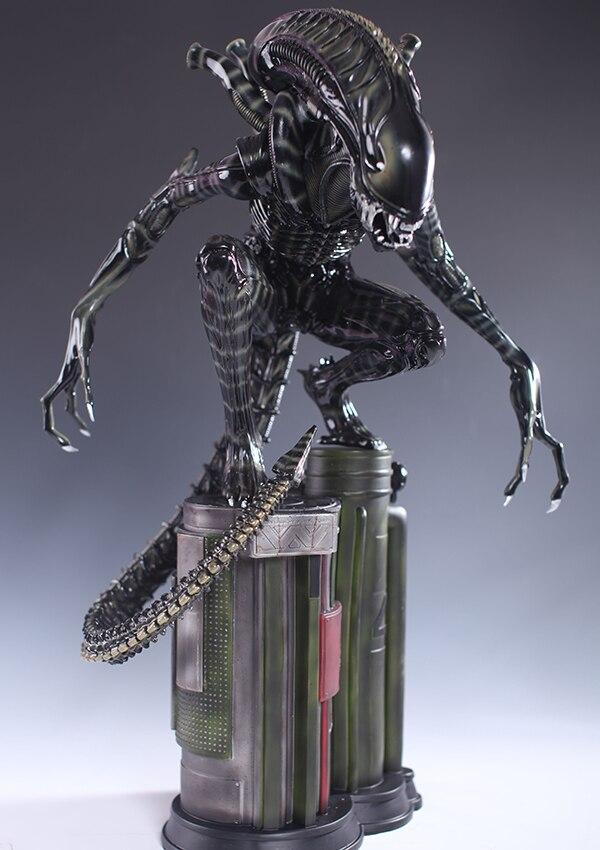 1/4 스케일 외계인 전신 60cm AVP 외계인 전사와 같은 - 장난감 피규어