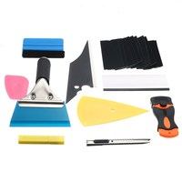 Useful Car Wrapping Application DIY Kit Vinyl Sheet Squeegee 10pcs Window Tint Tools