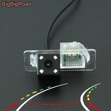 BigBigRoad Car Intelligent Dynamic Trajectory Tracks Rear View Camera For BMW 3 5 X5 X4 X6