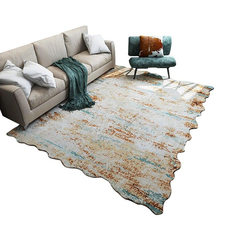 AOVOLL nueva suave alfombras de estilo americano para sala ...