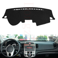 Fit For Kia FORTE 2009 2014 Car Dashboard Cover Avoid Light Pad Instrument Platform Dash Board