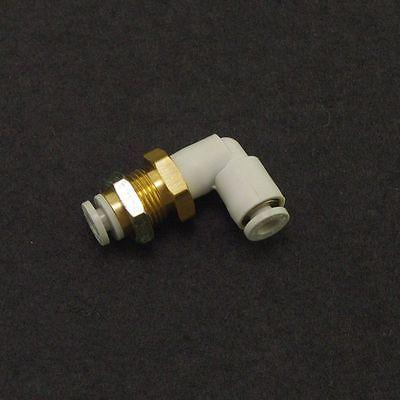 5 x One Touch Connectors Bulkhead Male Elbow Union 10mm Replace SMC KQ2LE10-00 x5 one touch push in connectors straight union tube 12mm replace smc kq2h12 00