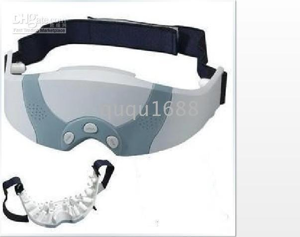6060  FREE SHIPPING SELLING BY 30pcs/lot Mask Forehead Massager Magnetic Massaging Electric Eye